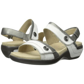 アラヴォン レディース シューズ・靴 サンダル・ミュール【Katherine-AR】White Multi