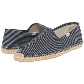 ソルドス メンズ シューズ・靴 ローファー【Original Stripe】Denim Blue/White