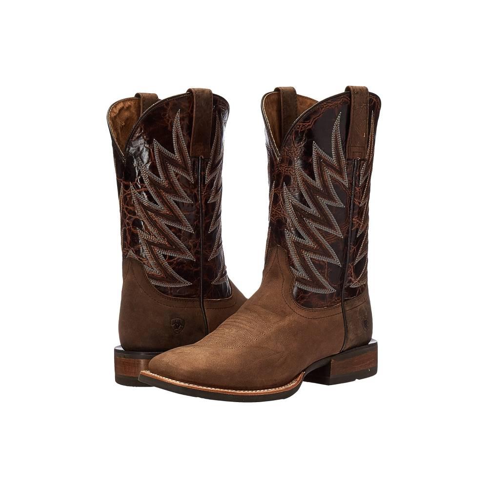 アリアト メンズ シューズ・靴 ブーツ【Challenger】Branding Iron Brown/Brindle