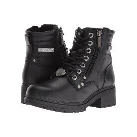 ハーレーダビッドソン レディース シューズ・靴 ブーツ【Inman Mills】Black