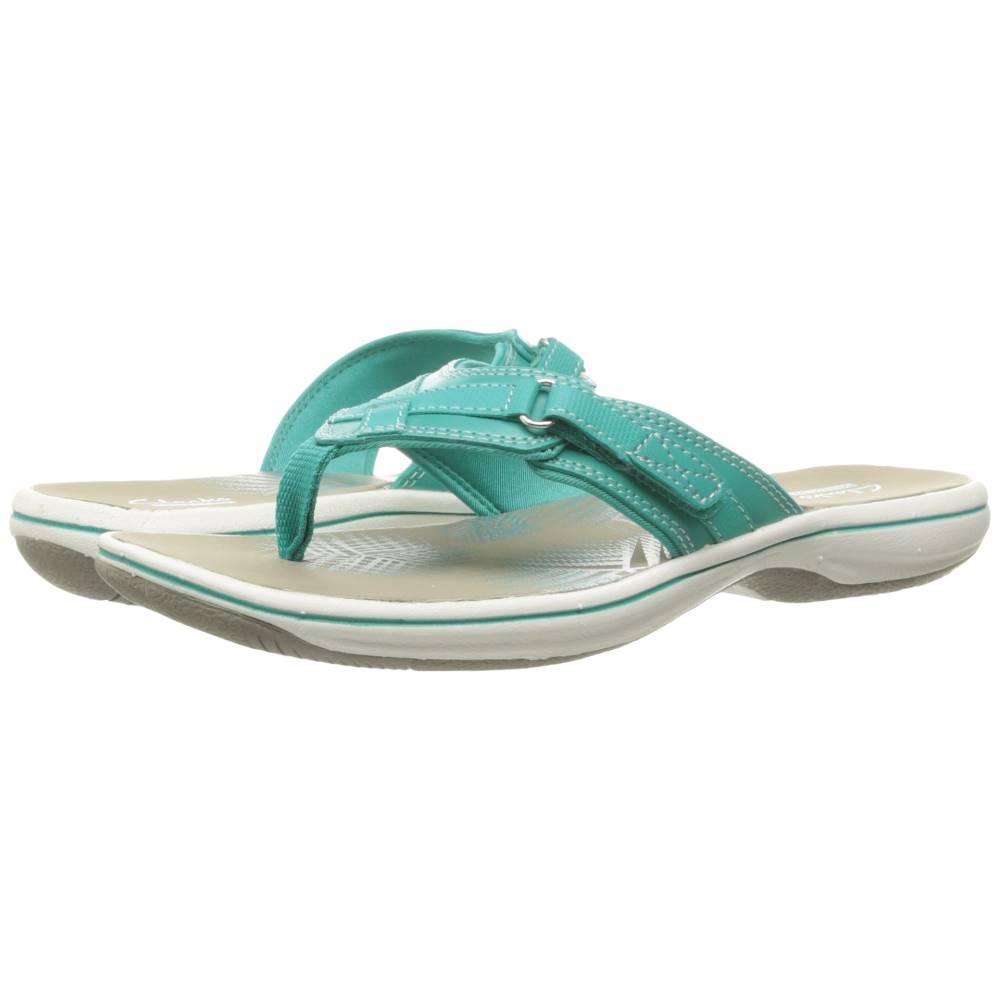 クラークス レディース シューズ・靴 サンダル・ミュール【Breeze Sea】Turquoise Synthetic