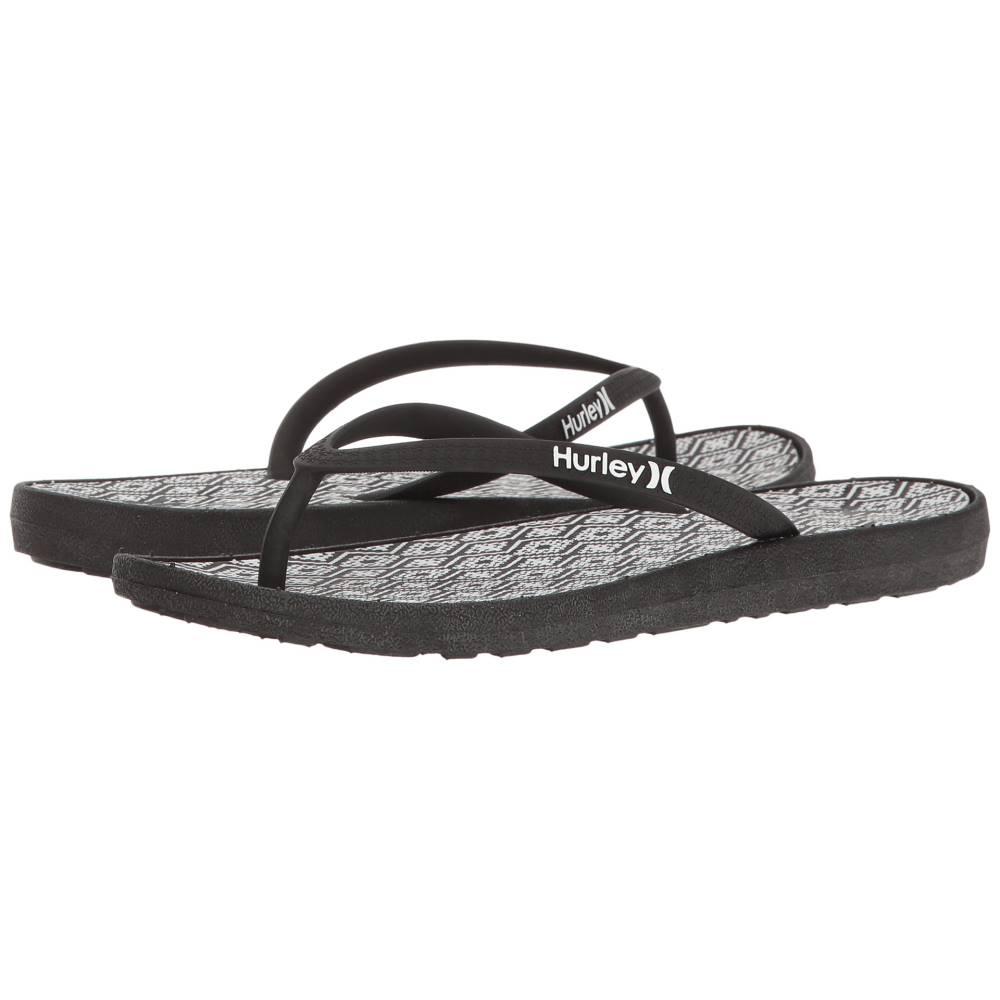 ハーレー レディース シューズ・靴 サンダル・ミュール【One & Only Printed Sandal】Black A