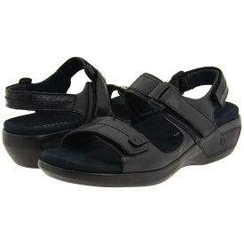 アラヴォン レディース シューズ・靴 サンダル・ミュール【Katy】Black Leather