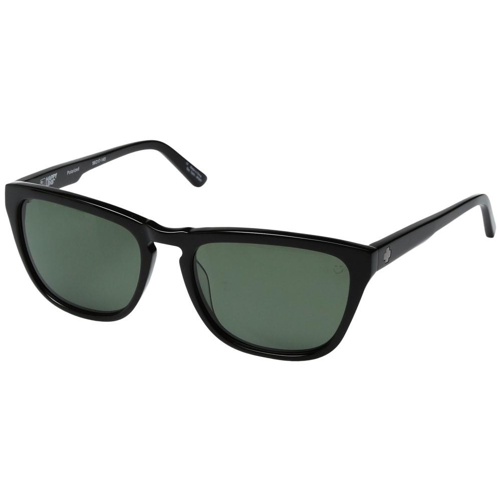 スパイ メンズ ファッション小物 スポーツサングラス【Hayes】Black/Happy Gray/Green Polar