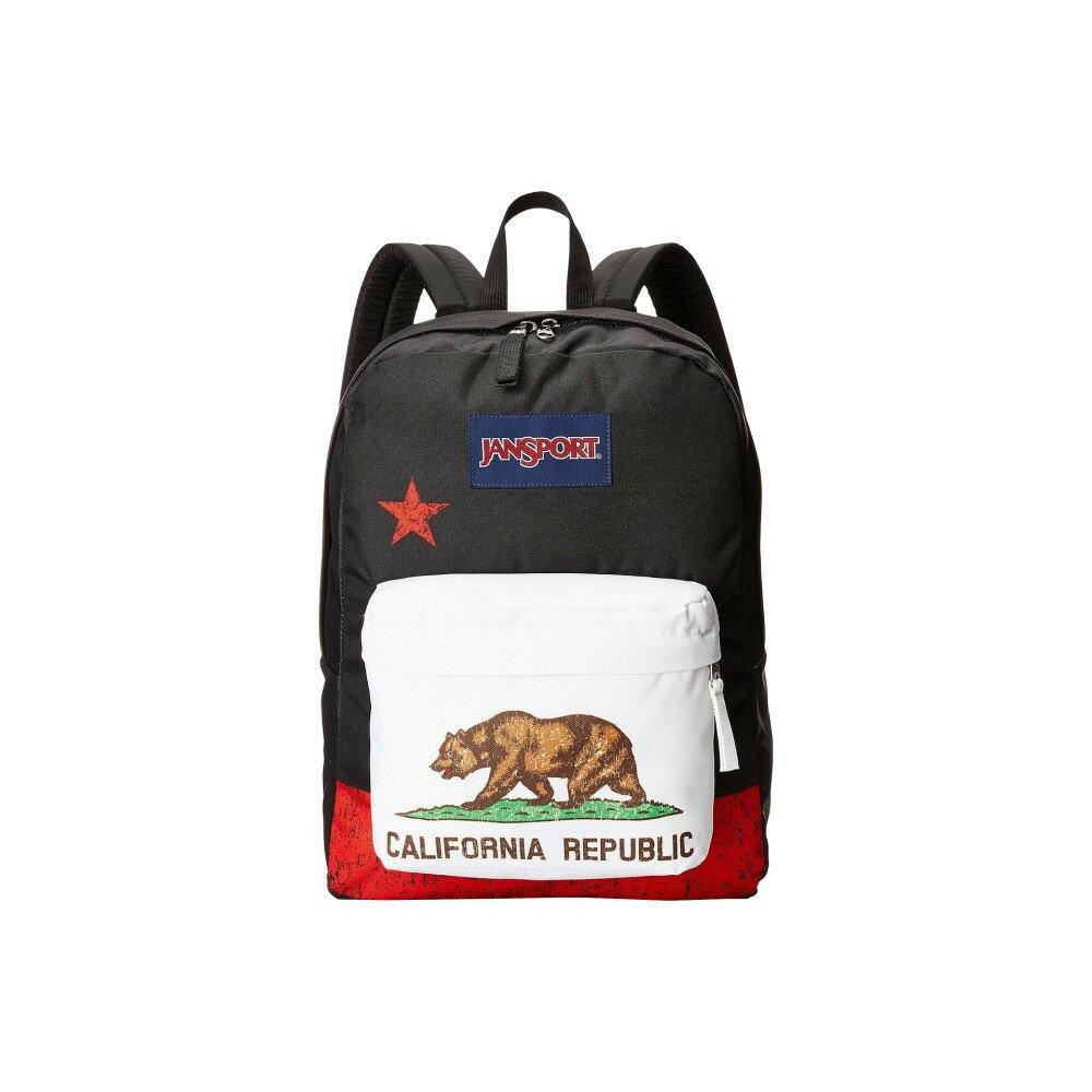 ジャンスポーツ メンズ バッグ バックパック・リュック【SuperBreak】Red New California Republic