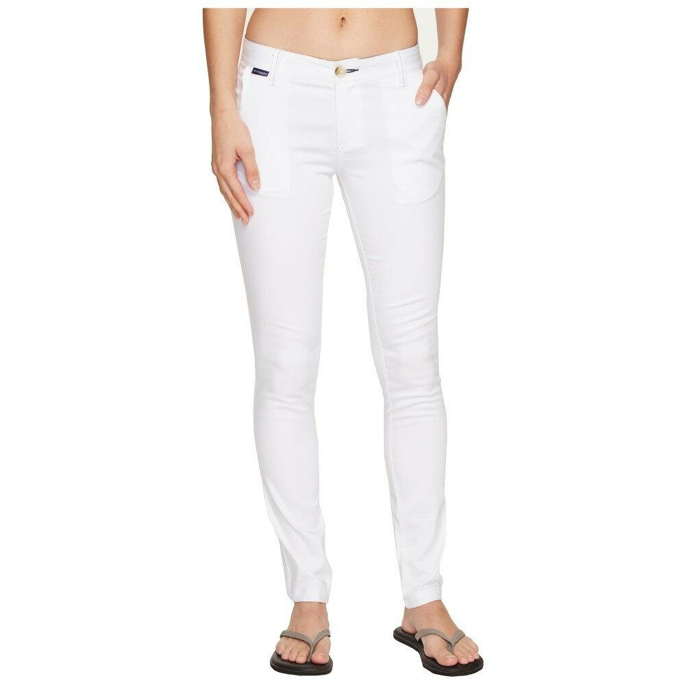 コロンビア レディース ボトムス・パンツ【Harborside Pants】White/Collegiate Navy