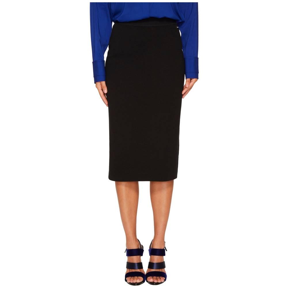 エスカーダ レディース スカート ひざ丈スカート【Rorondi Wool Pencil Skirt】Black