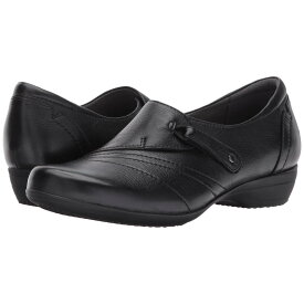 ダンスコ レディース シューズ・靴 ローファー・オックスフォード【Franny】Black Milled Nappa