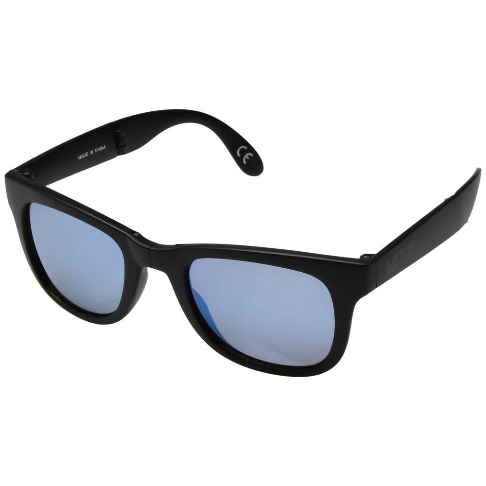 ヴァンズ メンズ ファッション小物 スポーツサングラス【Foldable Spicoli Shades】Black/Royal Blue
