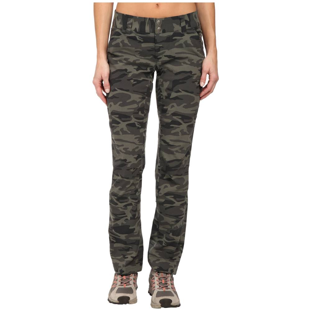 コロンビア レディース ボトムス・パンツ【Saturday Trail' Printed Pants】Gravel Camo Print