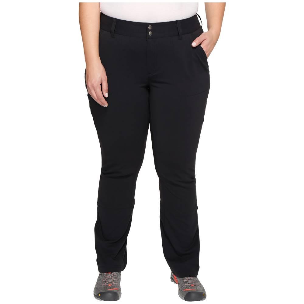 コロンビア レディース ボトムス・パンツ【Plus Size Saturday Trail Pants】Black