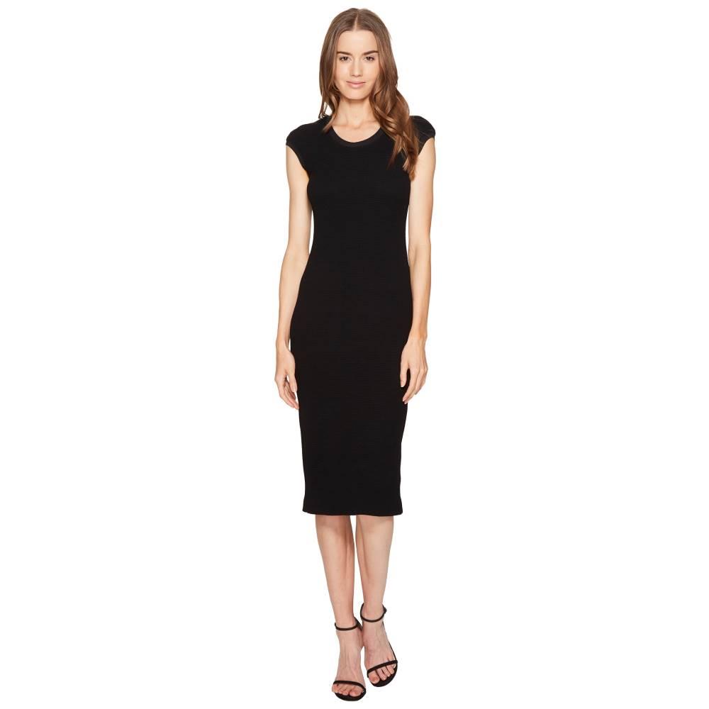 エスカーダ レディース ワンピース・ドレス ワンピース【Dastretch Short Sleeve Fitted Dress】Black