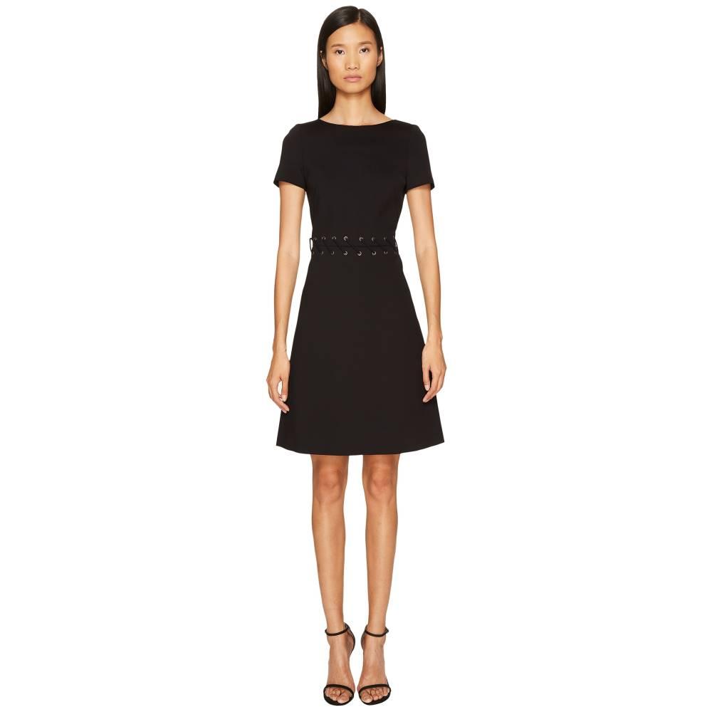 エスカーダ レディース ワンピース・ドレス ワンピース【Dacorda Braided Waist Dress】Black