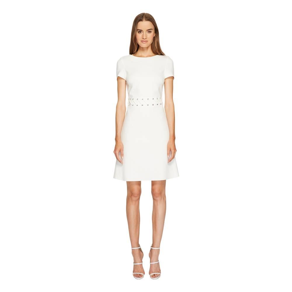 エスカーダ レディース ワンピース・ドレス ワンピース【Dacorda Braided Waist Dress】Off-White