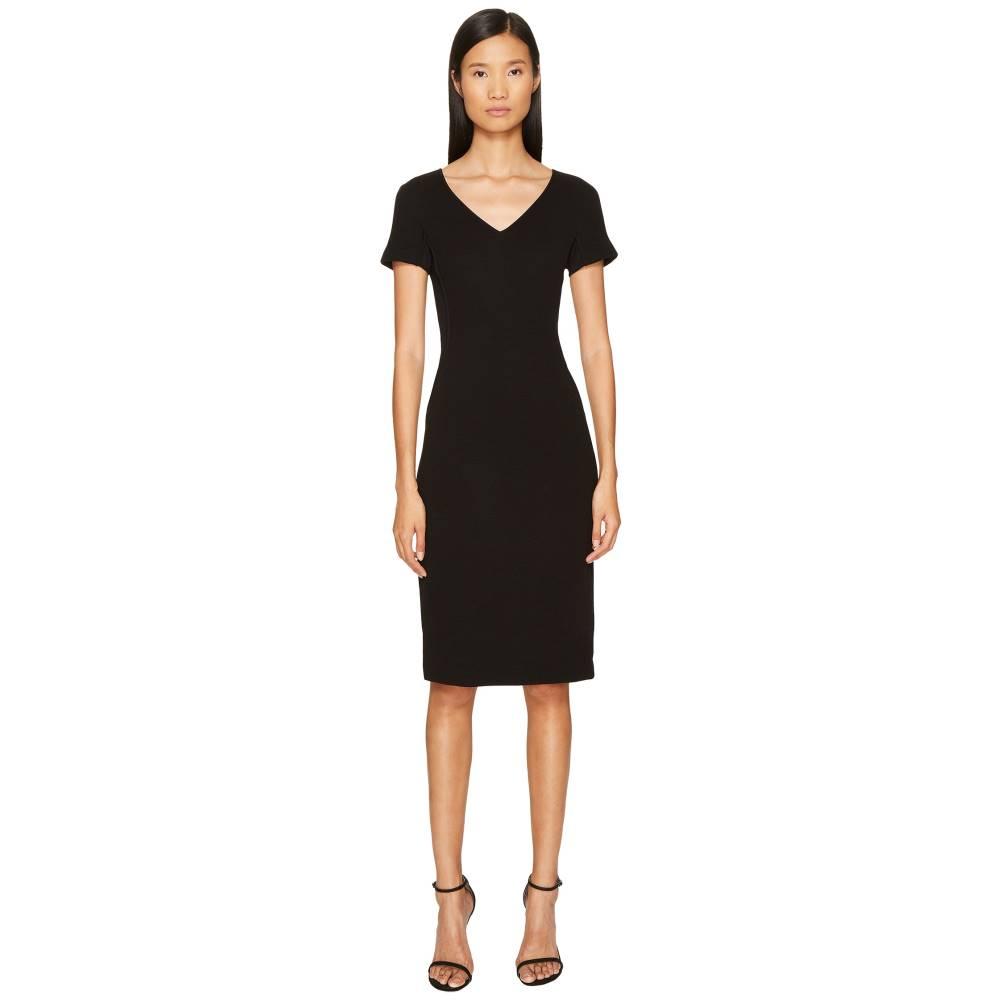エスカーダ レディース ワンピース・ドレス ワンピース【Dorondi Short Sleeve V-Neck Dress】Black