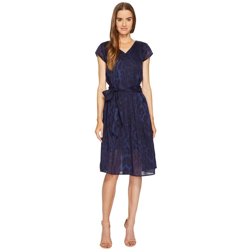 エスカーダ レディース ワンピース・ドレス ワンピース【Dalya Animal Print Dress】Fantasy Blue