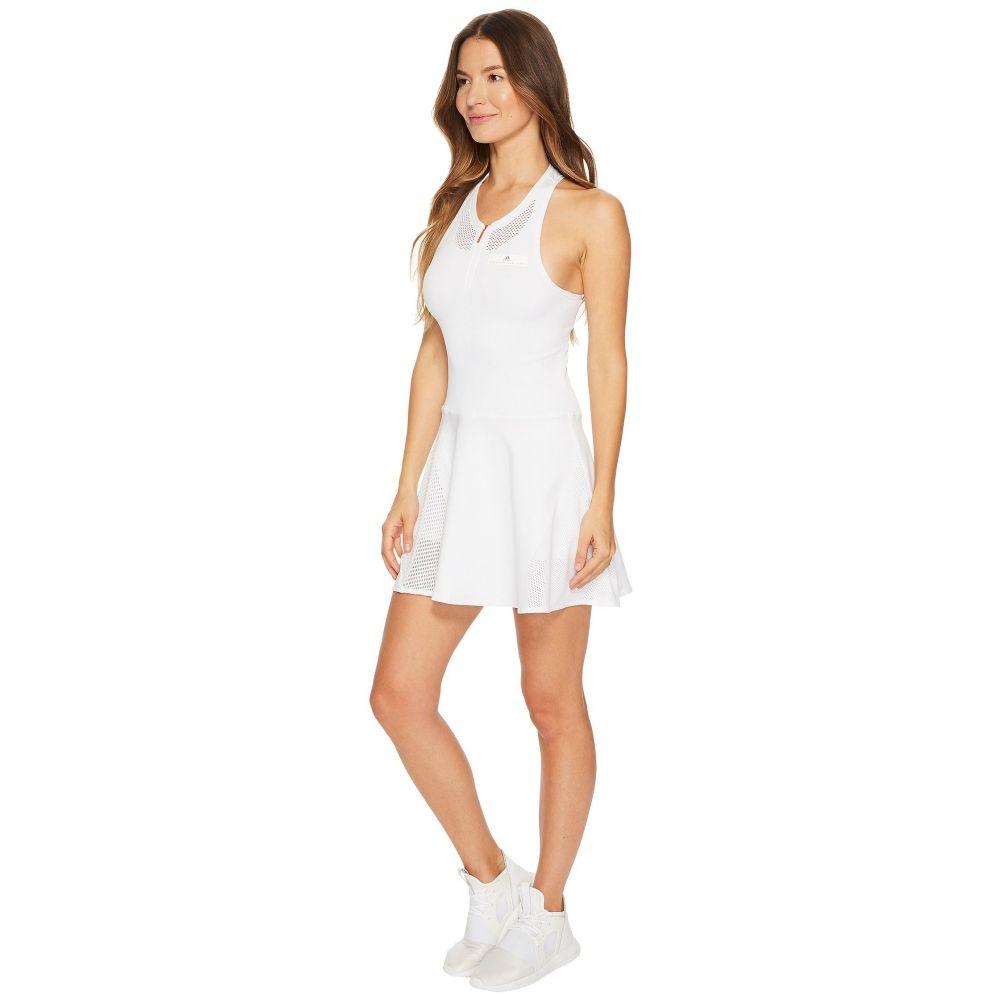 アディダス レディース ワンピース・ドレス ワンピース【Stella McCartney Barricade Dress】White/Grey 4