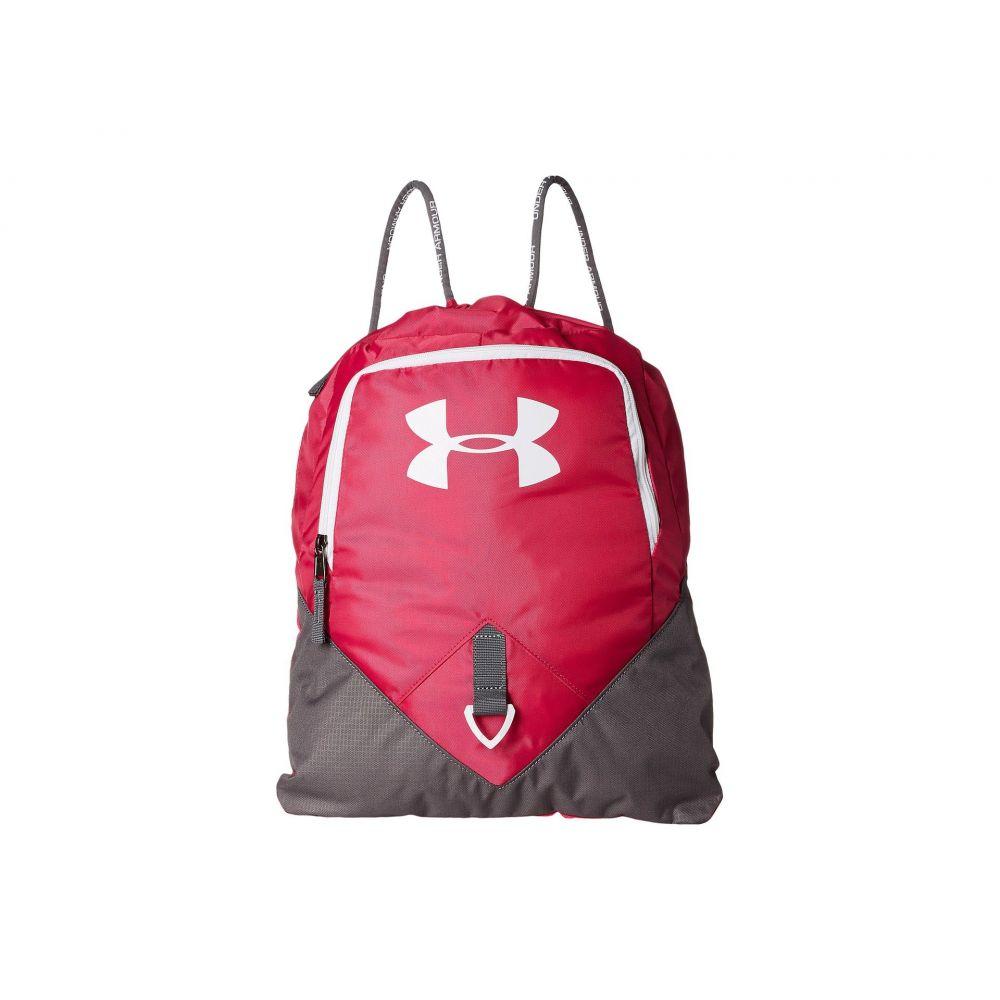 アンダーアーマー レディース バッグ バックパック・リュック【UA Undeniable Sackpack】Tropic Pink/Graphite/White