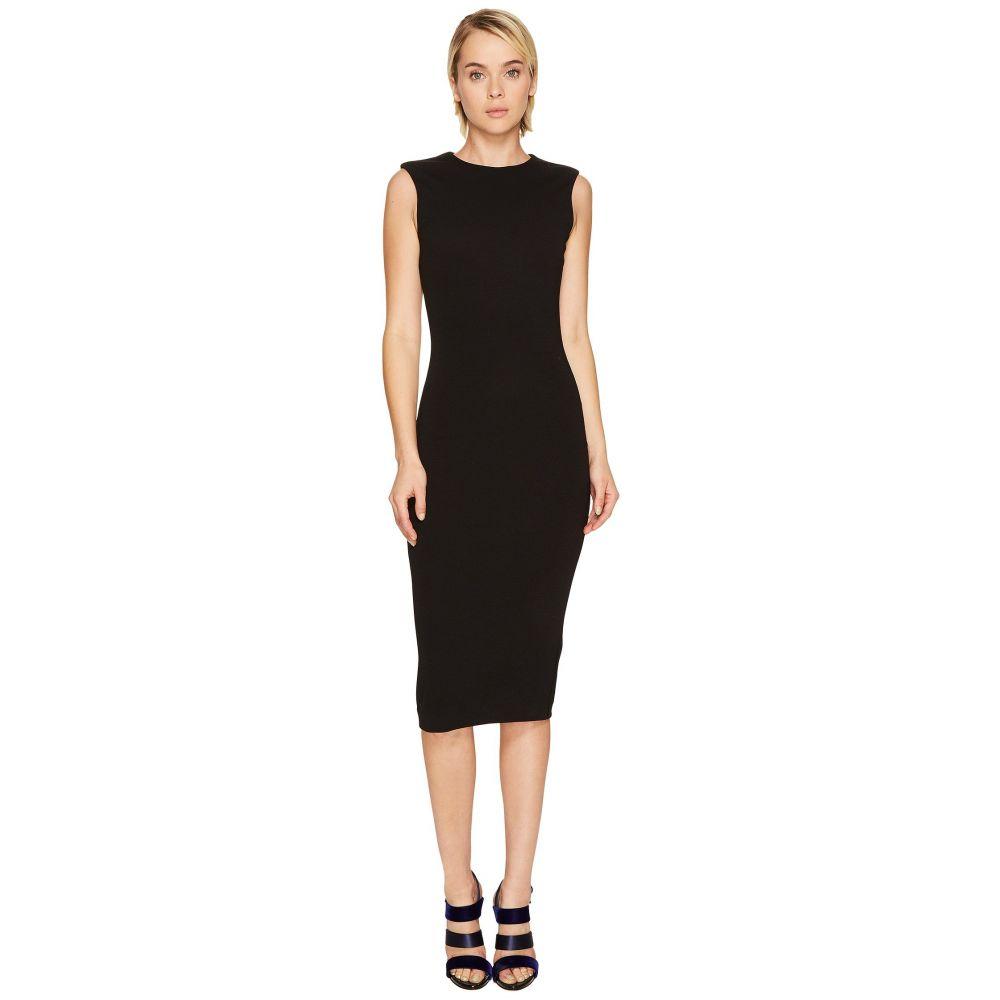 ディースクエアード レディース ワンピース・ドレス ワンピース【Wool Jersey Sleeveless Dress】Black