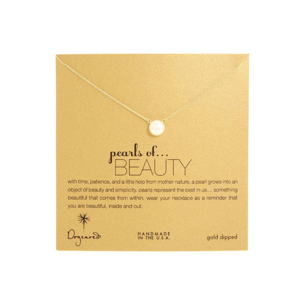 ドギャード レディース ジュエリー・アクセサリー ネックレス【Pearls of Beauty Necklace】Gold Dipped