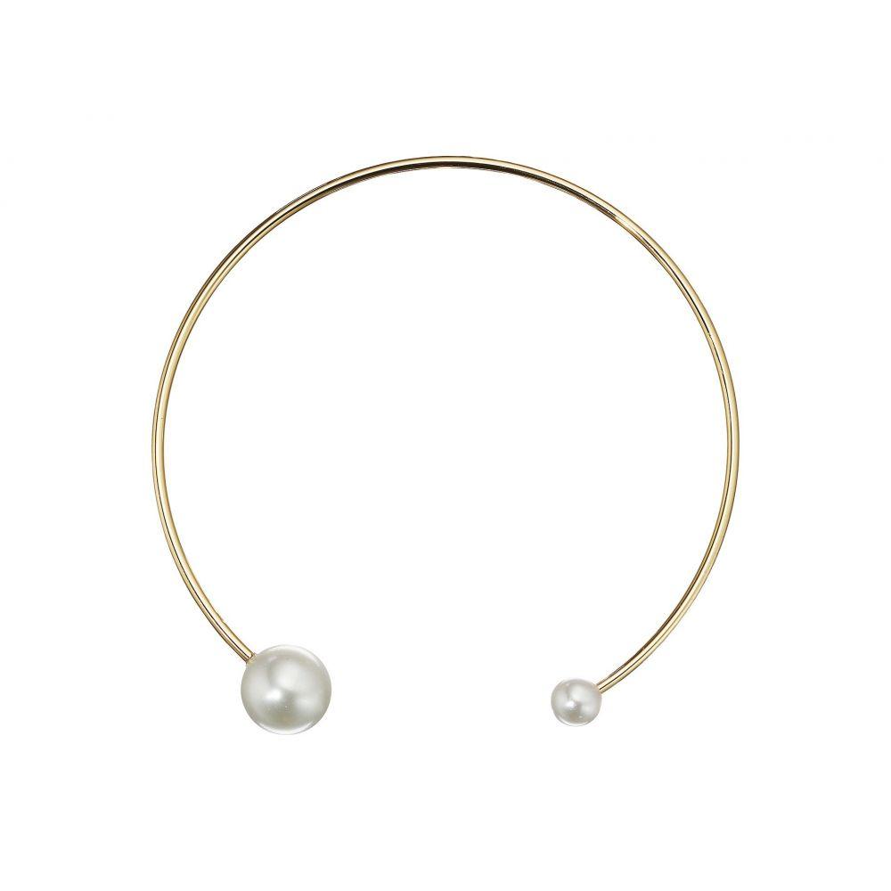 レベッカ ミンコフ レディース ジュエリー・アクセサリー ネックレス【Sphere Collar Necklace】Pearl