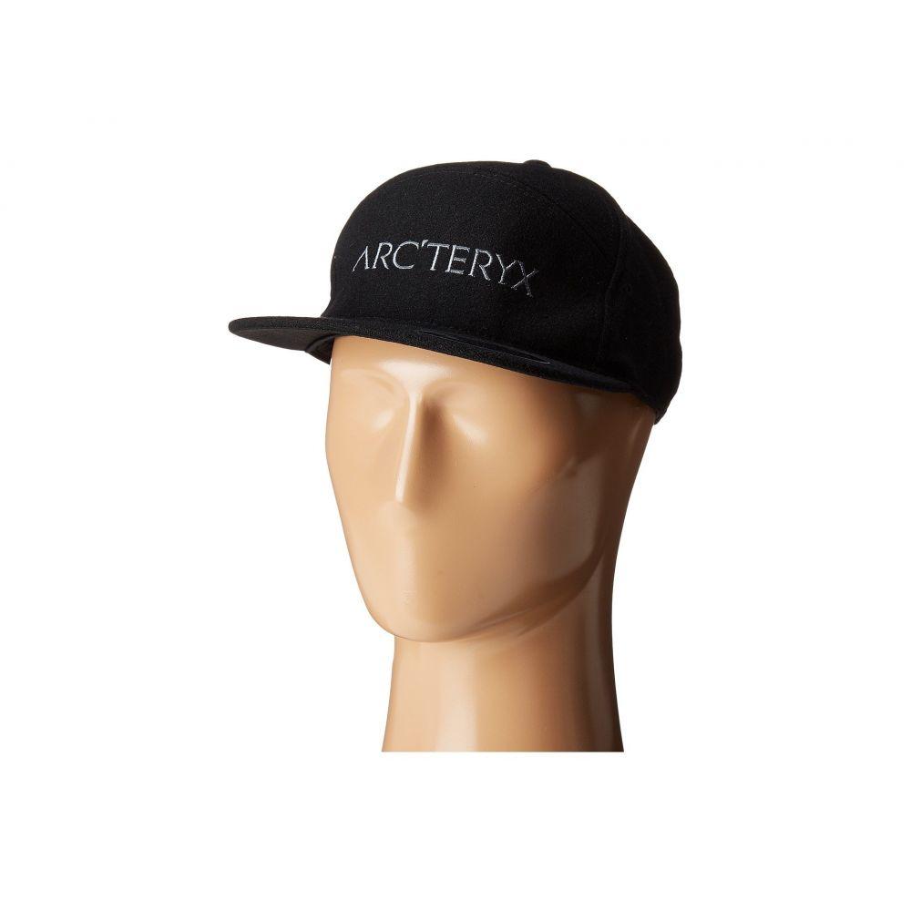 アークテリクス メンズ 帽子 キャップ【7 Panel Wool Ball Cap】Black