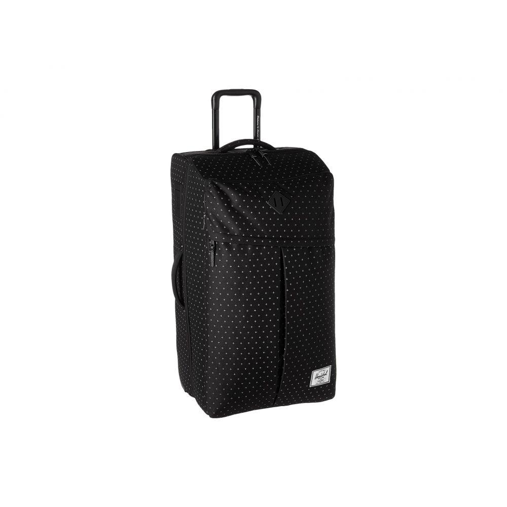 ハーシェル サプライ メンズ バッグ スーツケース・キャリーバッグ【Parcel XL】Black Gridlock