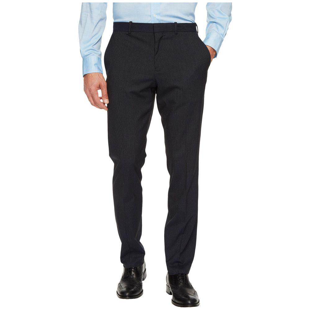 ペリー エリス メンズ ボトムス・パンツ スラックス【Slim Fit Subtle Pinstripe Dress Pants】Navy