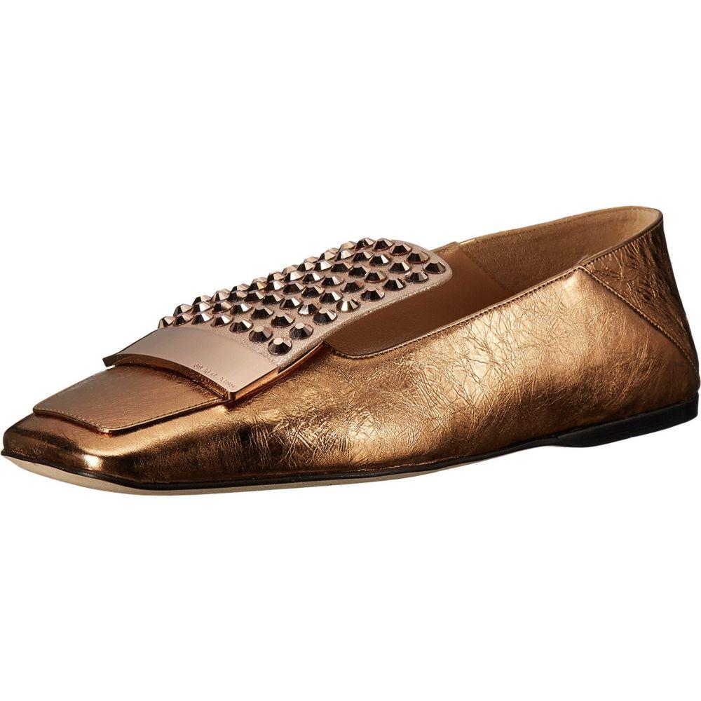 セルジオ ロッシ レディース シューズ・靴 ローファー・オックスフォード【A77990-MFN164】Rose Gold Crash/Jewel