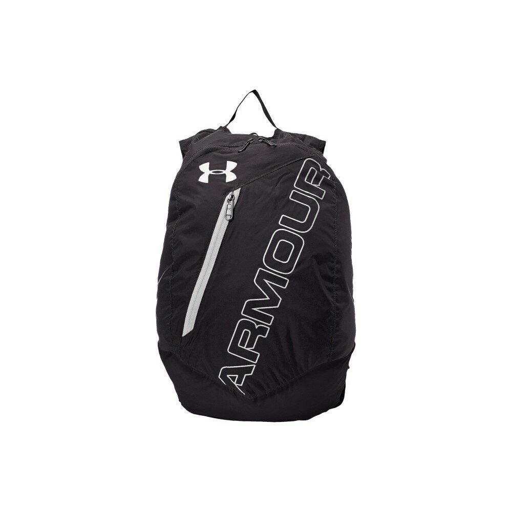 アンダーアーマー レディース バッグ バックパック・リュック【UA Adaptable Backpack】Black/Silver/White