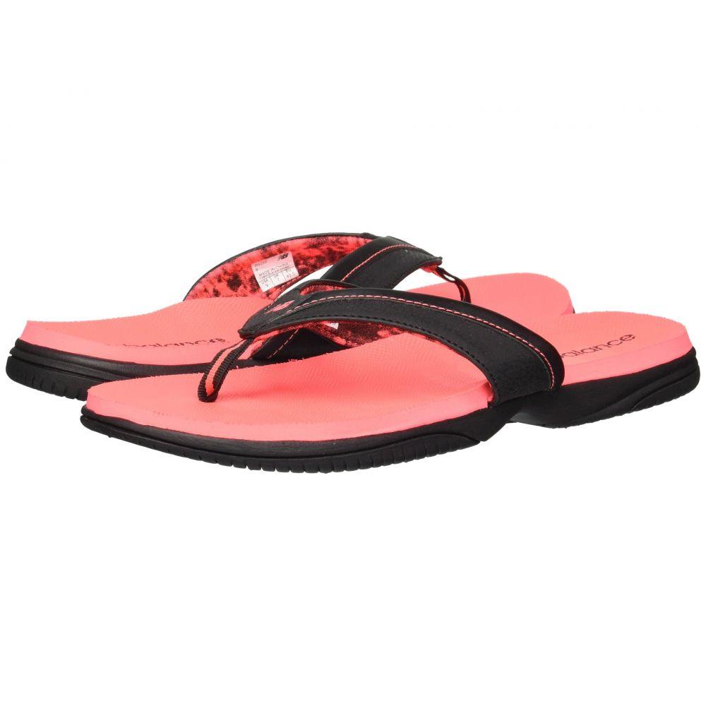 ニューバランス レディース シューズ・靴 サンダル・ミュール【JoJo Thong】Black/Pink 1