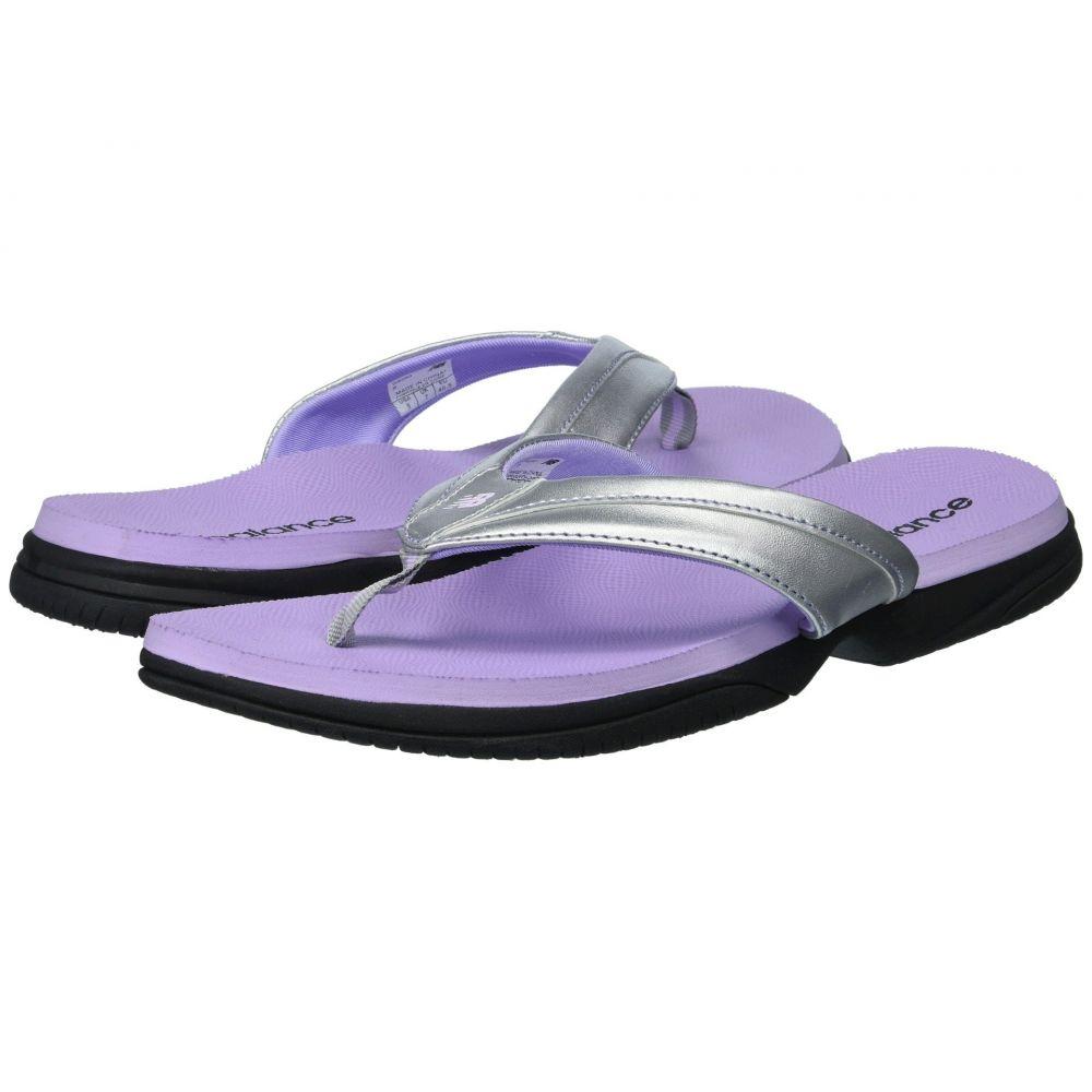 ニューバランス レディース シューズ・靴 サンダル・ミュール【JoJo Thong】Silver/Violet