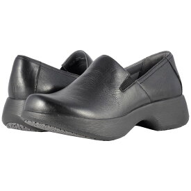 ダンスコ レディース シューズ・靴 ローファー・オックスフォード【Winona】Black Milled Nappa
