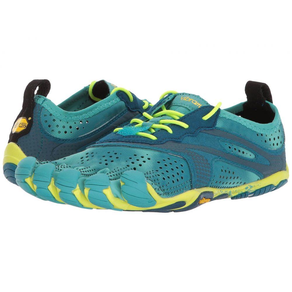 ビブラムファイブフィンガーズ レディース ランニング・ウォーキング シューズ・靴【V-Run】Teal/Navy
