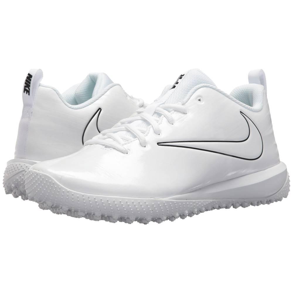 ナイキ レディース ラクロス シューズ・靴【Varsity Low Turf Lax】White/White