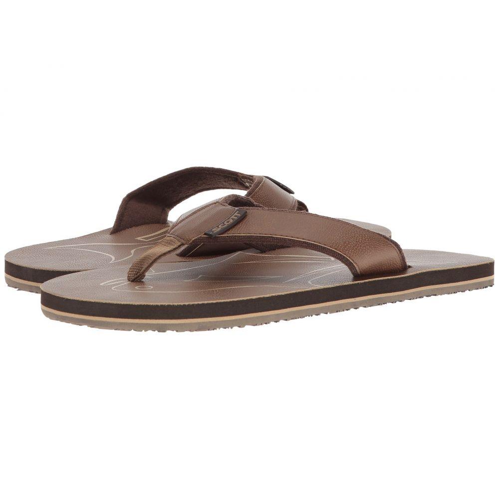 スコットハワイ メンズ シューズ・靴 サンダル【Papio】Brown
