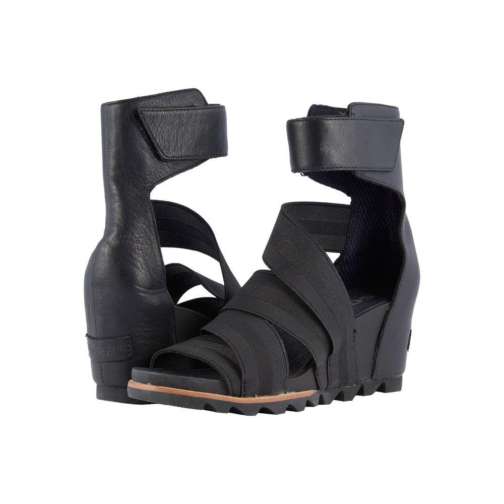 ソレル レディース シューズ・靴 サンダル・ミュール【Joanie Gladiator II】Black