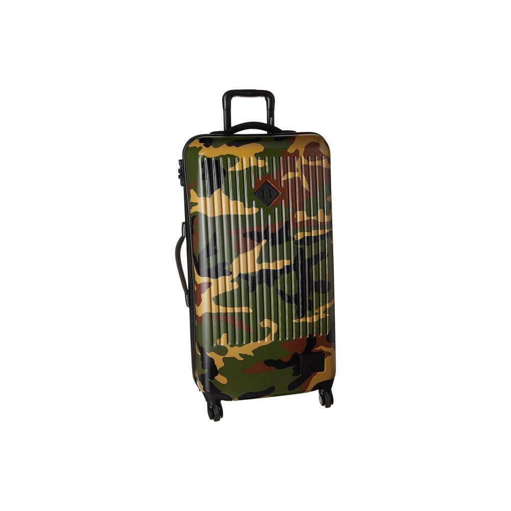 ハーシェル サプライ レディース バッグ スーツケース・キャリーバッグ【Trade Large】Woodland Camo
