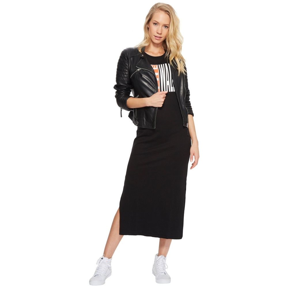 ヴァンズ レディース ワンピース・ドレス ワンピース【Legend Stamp Dress】Black