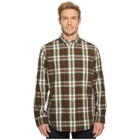 フィルソン メンズ トップス シャツ【Sutter Sport Shirt】Brown/Forest/Gold