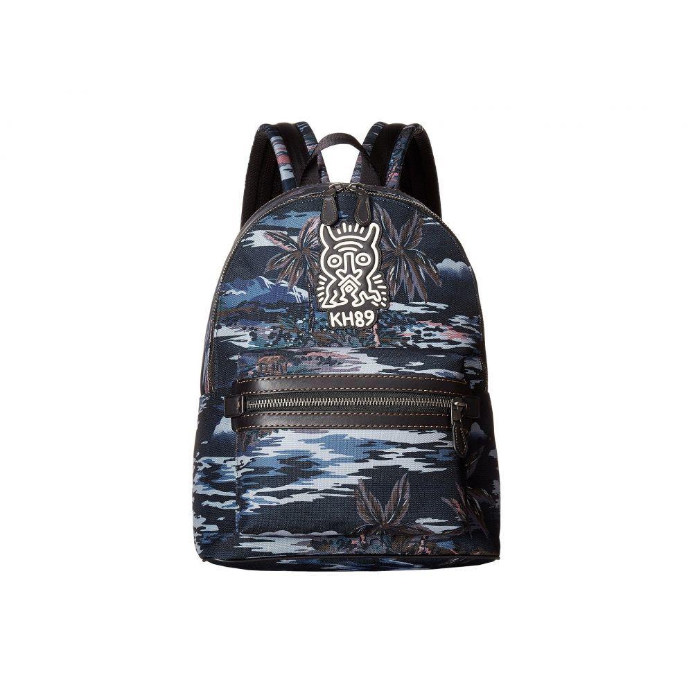 コーチ メンズ バッグ バックパック・リュック【Coach X Keith Haring Academy Backpack】JI/Black Hawaiian Print