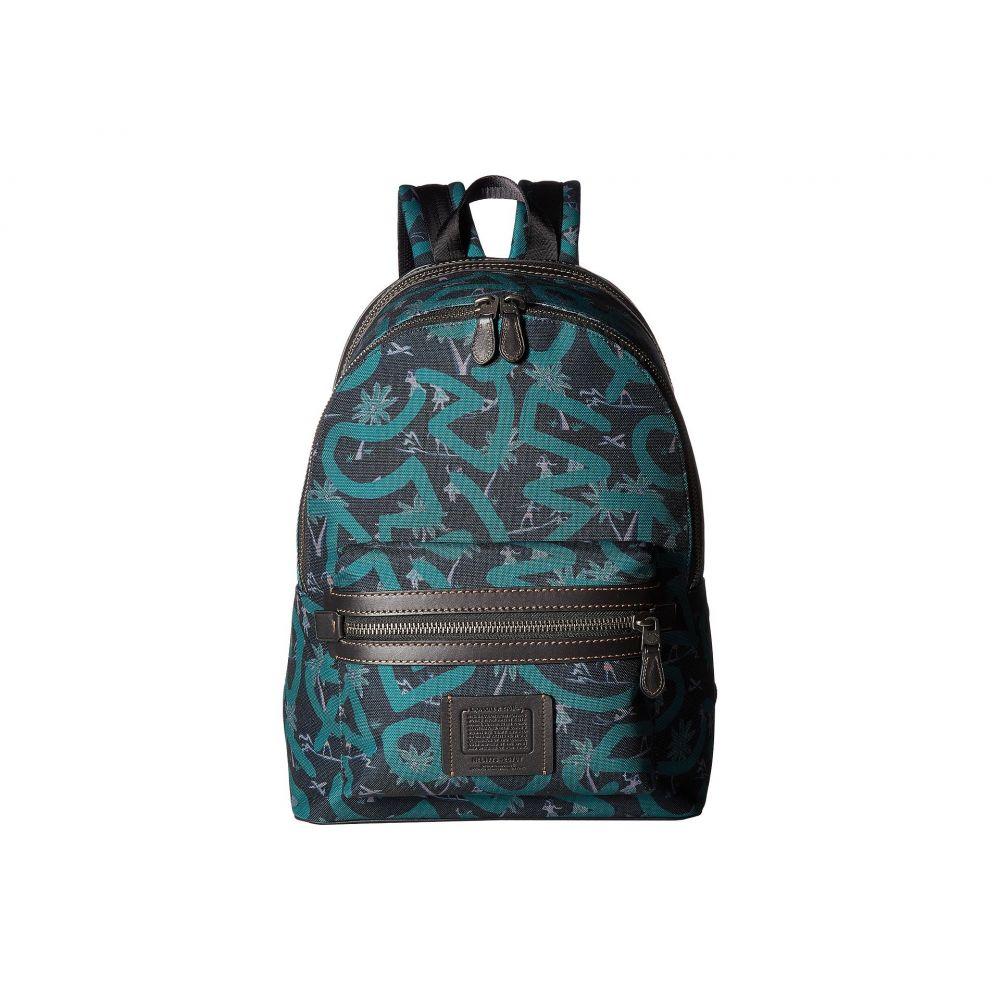 コーチ メンズ バッグ バックパック・リュック【Coach X Keith Haring Academy Backpack】JI/Huladance Black