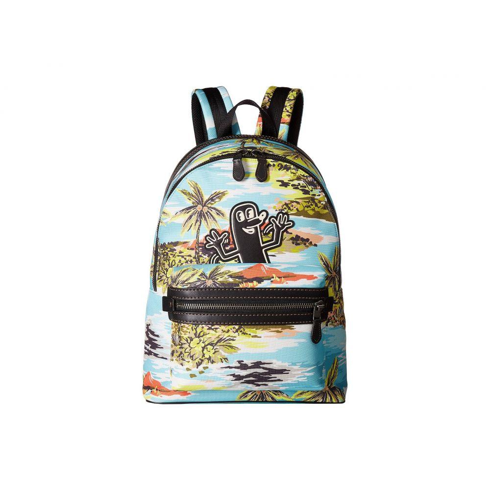 コーチ メンズ バッグ バックパック・リュック【Coach X Keith Haring Academy Backpack】JI/Hawaiian Blue