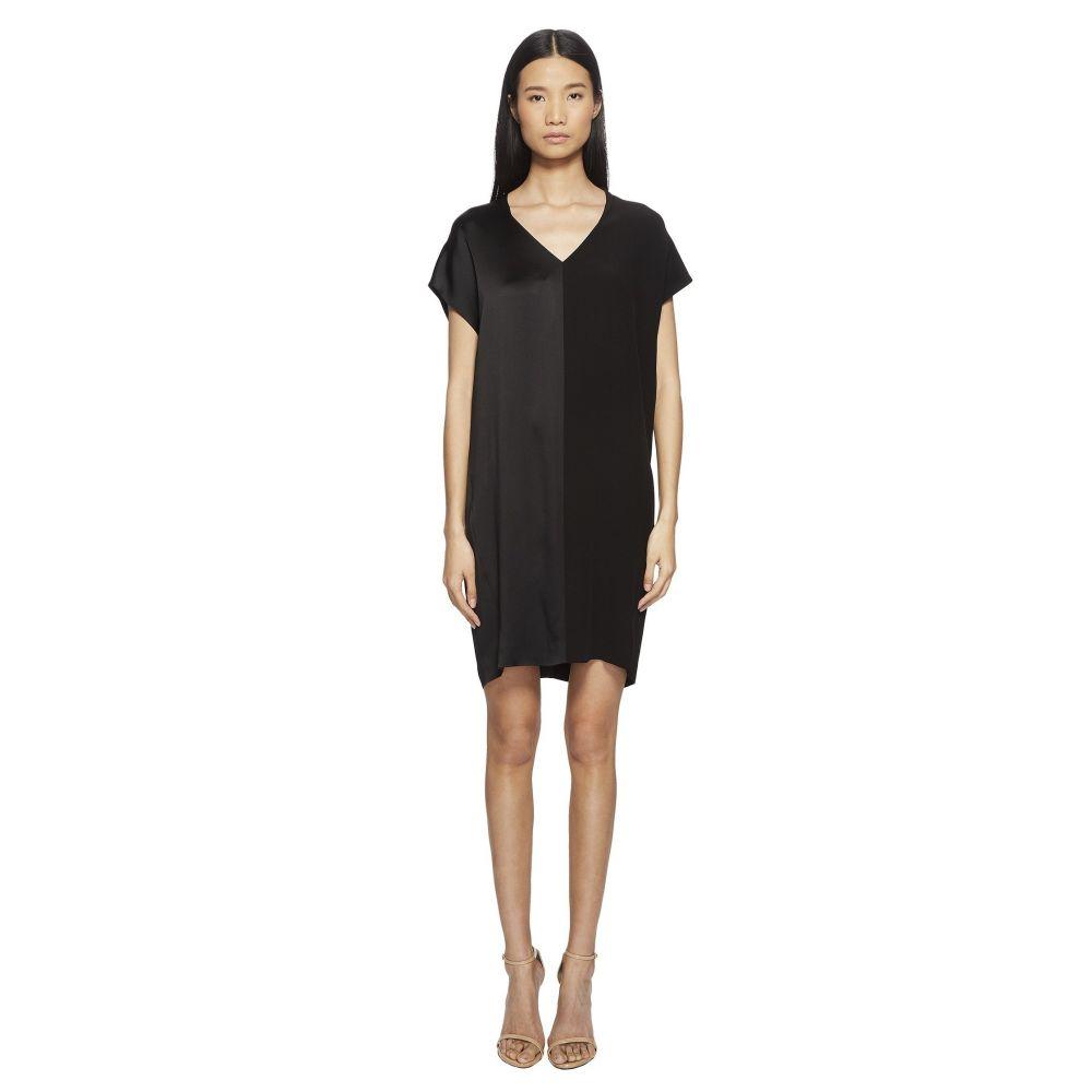 エスカーダ レディース ワンピース・ドレス ワンピース【Daflor V Cap Sleeve Dress】Black