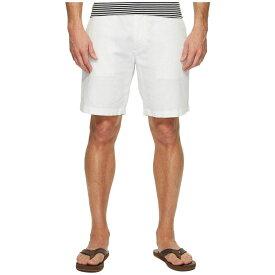 ノーティカ メンズ ボトムス・パンツ ショートパンツ【Linen Cotton Shorts】Bright White