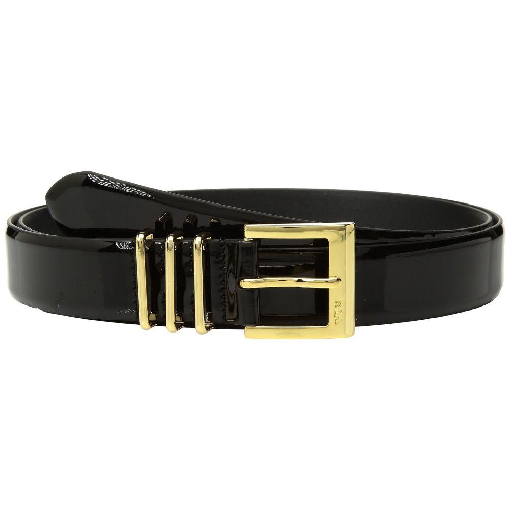 ラルフ ローレン レディース ベルト【Tri Keeper Hardwear Dress Casual Medium】Black