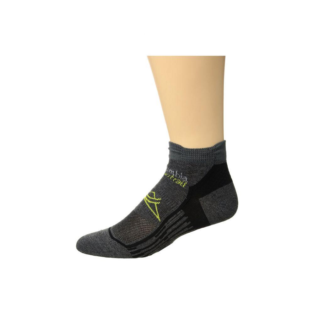 コロンビア レディース ランニング・ウォーキング【Trail Running Nilit Breeze Lightweight Low Cut Socks 1-Pack】Charcoal