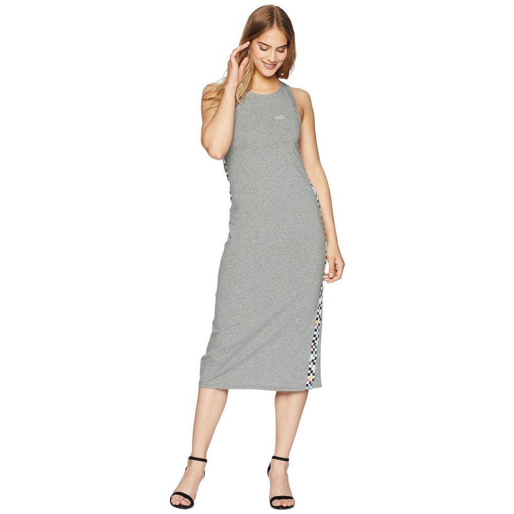 ヴァンズ レディース ワンピース・ドレス ワンピース【Checkered Dress】Grey Heather