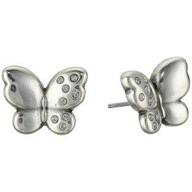 ブライトン レディース ジュエリー・アクセサリー イヤリング・ピアス【Butterfly Kiss Post Earrings】Crystal