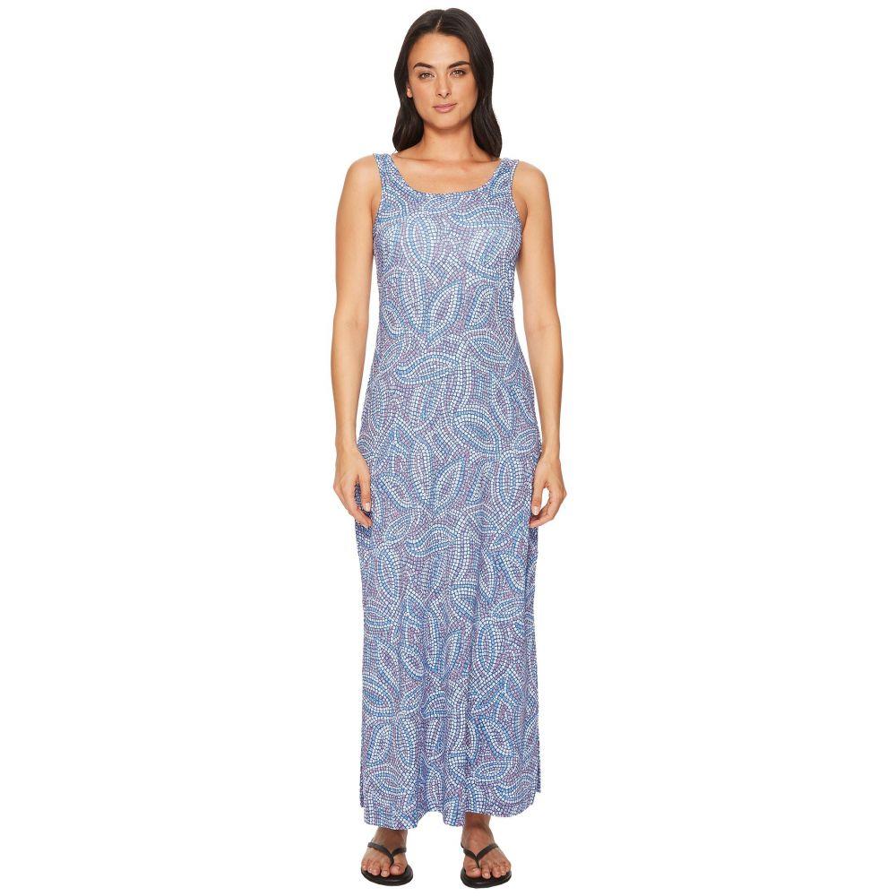 コロンビア レディース ワンピース・ドレス ワンピース【Freezer Maxi Dress】Night Tide Mosaic Print